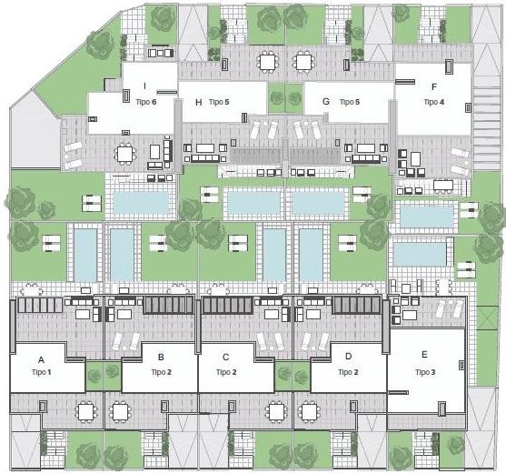 Plano Residencial Puerta de Hierro