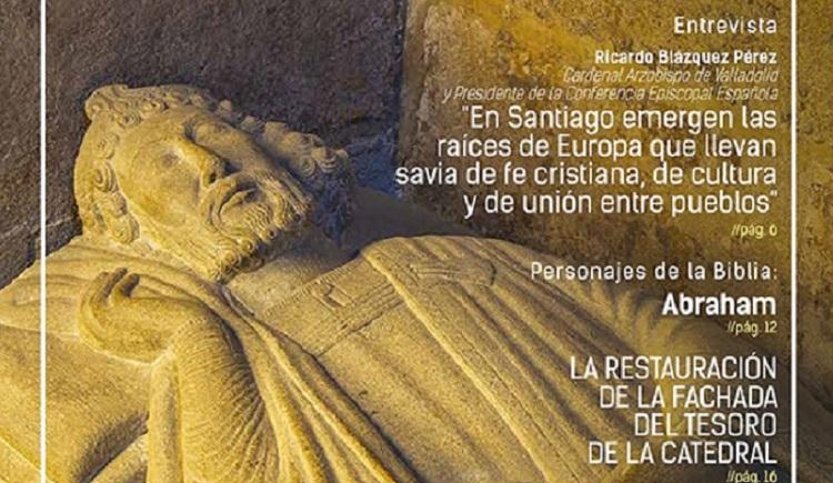 Trabajos de restauración de Pecsa en la revista Catedral de Santiago